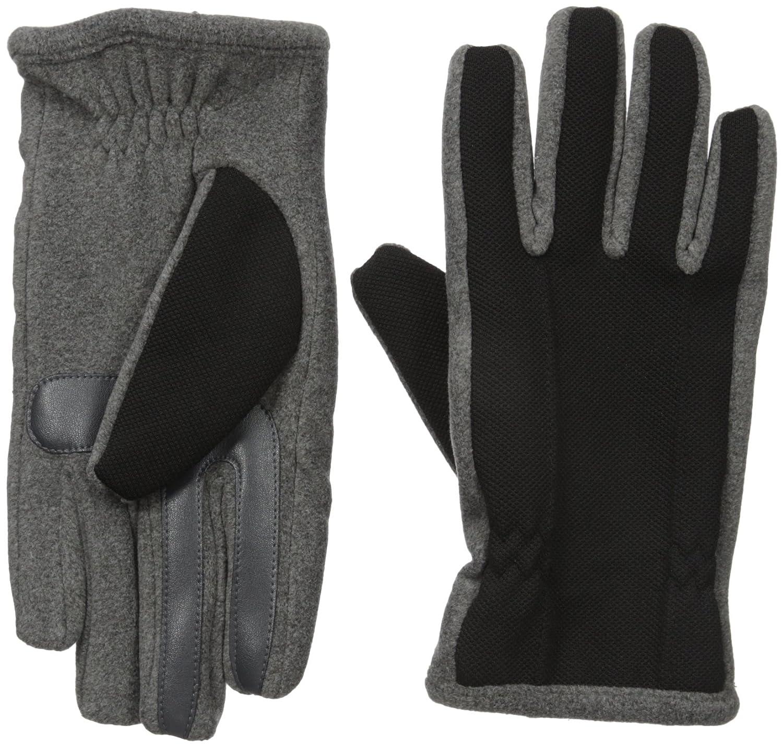 Isotoner Men's Tech Stretch smarTouch Fleece Palm Gloves Isotoner Men' s Gloves 60742