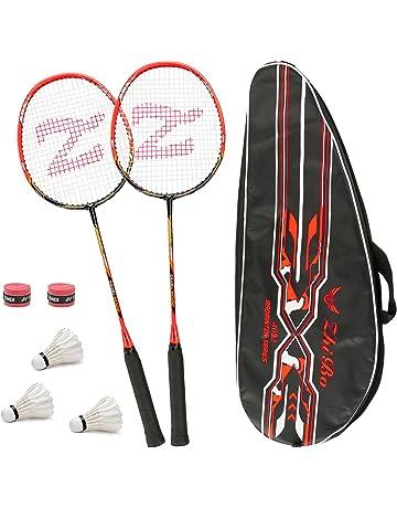 ad8d910299 Set Di 2 Racchette Per Badminton, Con Borsa Per Racchette/2 x Overgrip/
