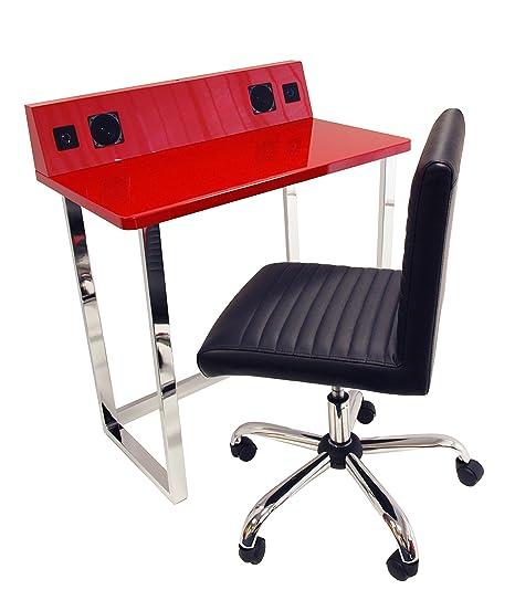Alphason Symphony Desk Built In Speakers U0026 Lane Chair Set Aux IN