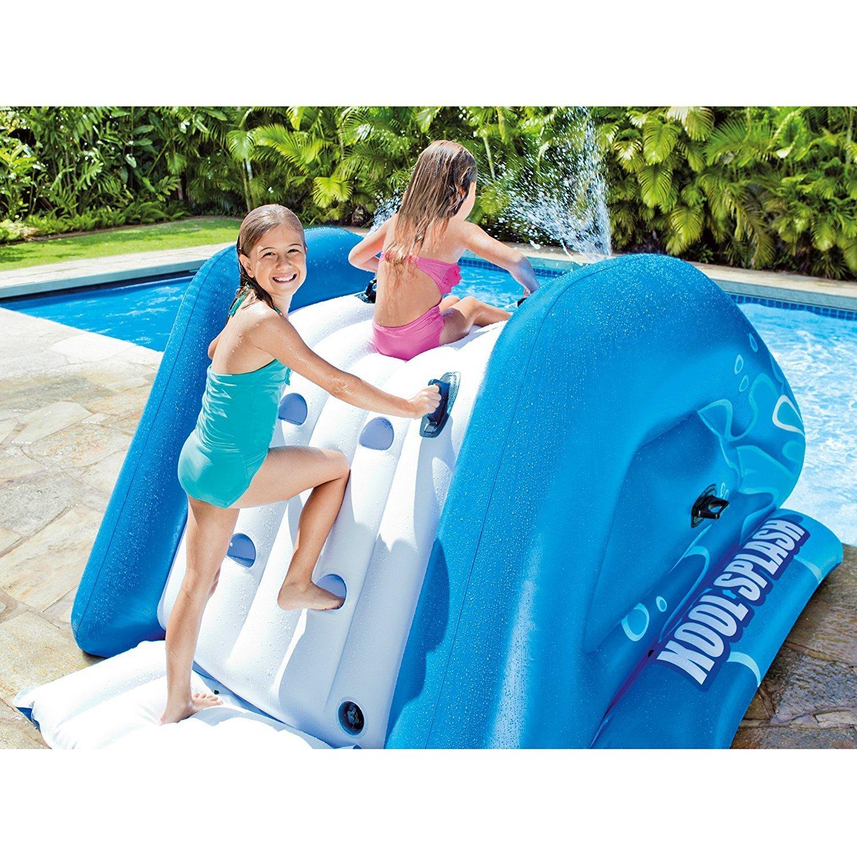New Shop INTEX Kool Splash Inflatable Swimming Pool Water Slide + Quick Fill Air Pump by Intex (Image #3)