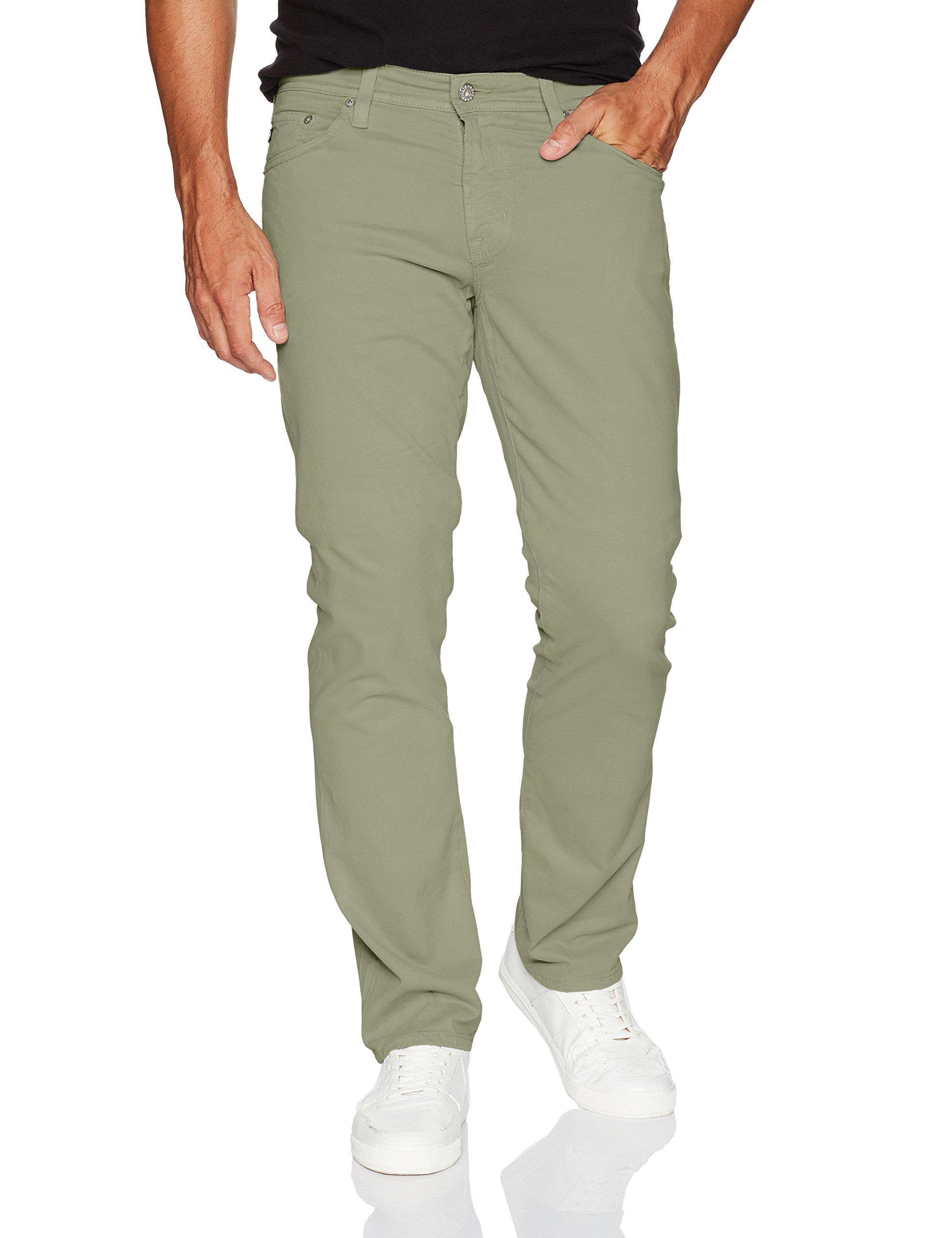 AG Adriano Goldschmied Men's Graduate Tailored Leg SUD Pant, Dry Cypress, 40W x 34L