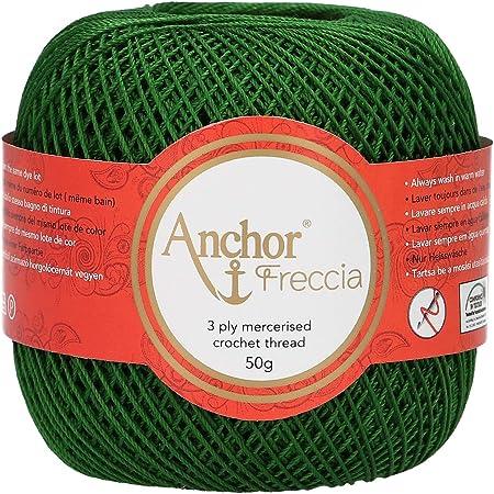 Anchor 4771012 – 00322 ganchillo hilo, algodón, verde: Amazon.es: Hogar