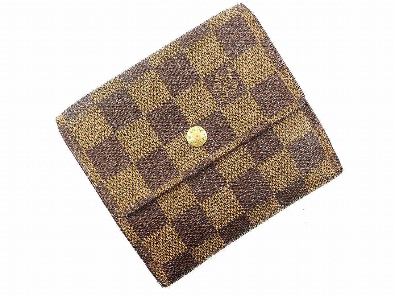 [ルイヴィトン] LOUIS VUITTON 二つ折り財布 ダミエ PVC×レザー X16505 中古   B0789LLZBM