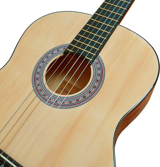 Rocket XF201AN XF Serie - Guitarra española clásica, color natural ...