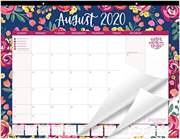 July 2021 Desktop Calendar Amazon.: bloom daily planners 2020 2021 Academic Year Desk