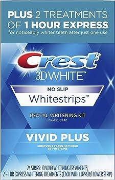 24-Pack Crest 3D White Whitestrips Vivid Plus