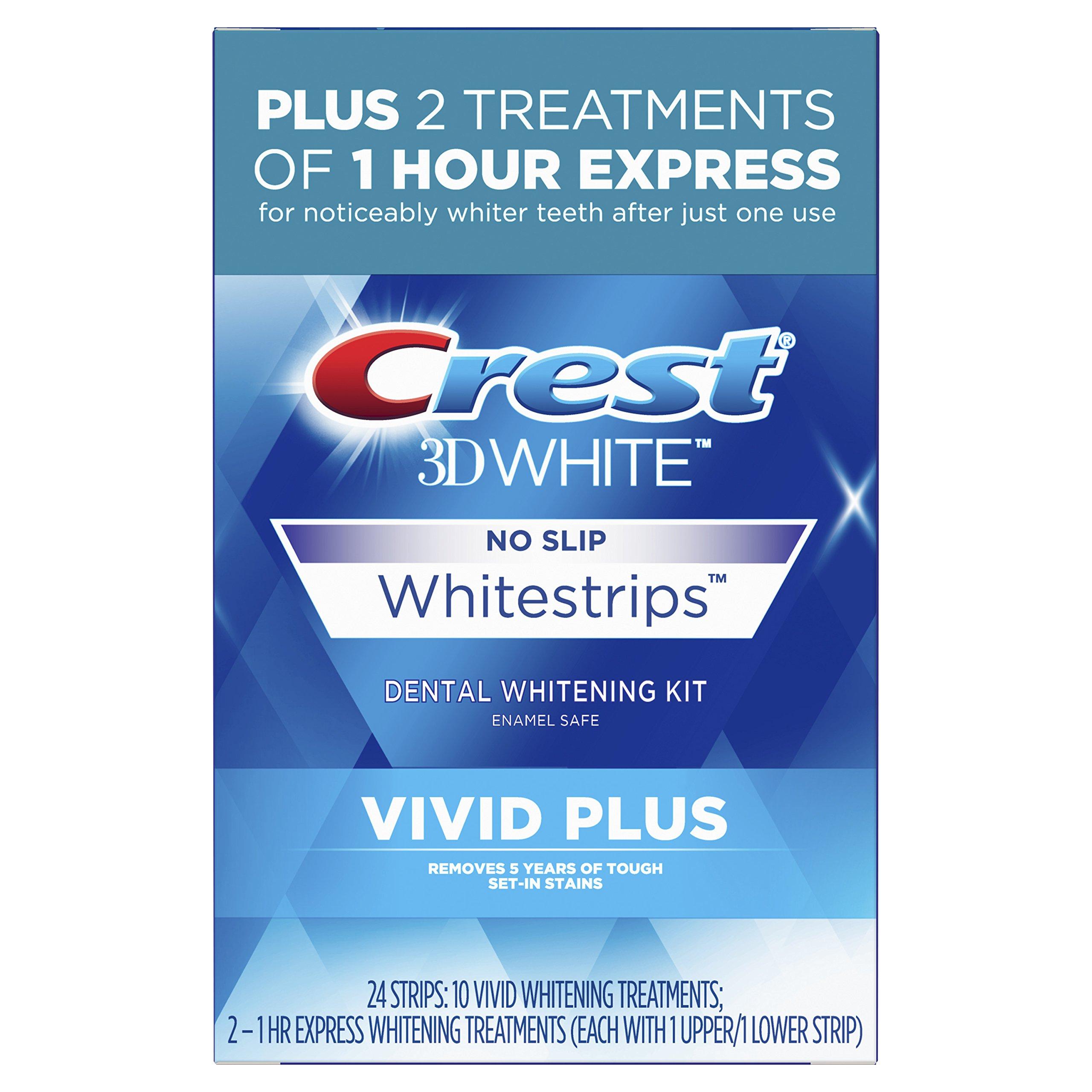 Crest 3D White Whitestrips Vivid Plus by Crest