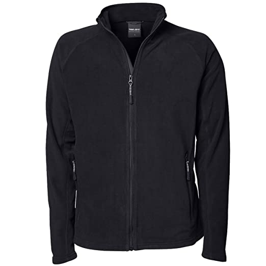 5d63c580 Tee Jays Mens Full Zip Active Lightweight Fleece Jacket at Amazon ...