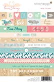 Webster's Pages 'Love Story' Word Stickers