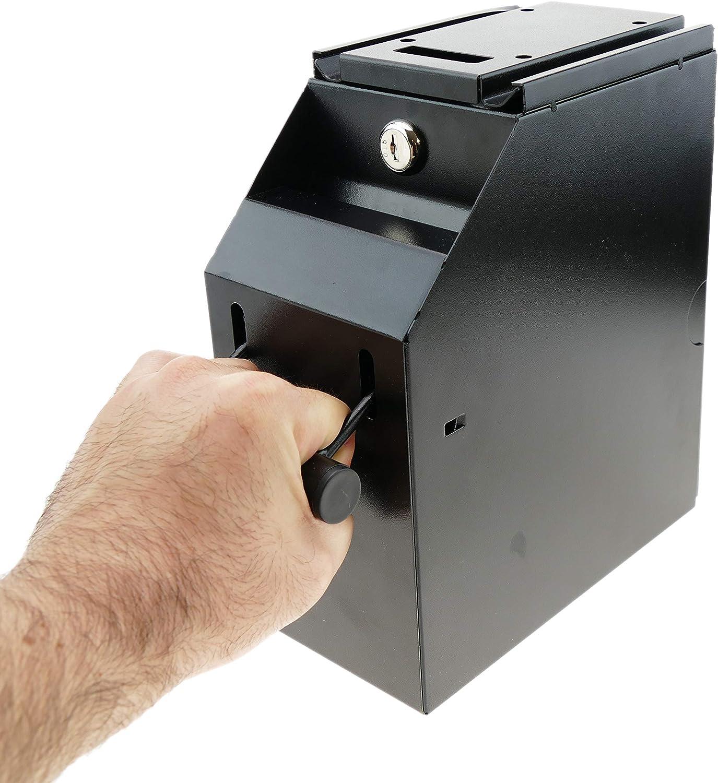 PrimeMatik - Caja fuerte y seguridad para billetes en caja registradora y TPV (MM077): Amazon.es: Oficina y papelería