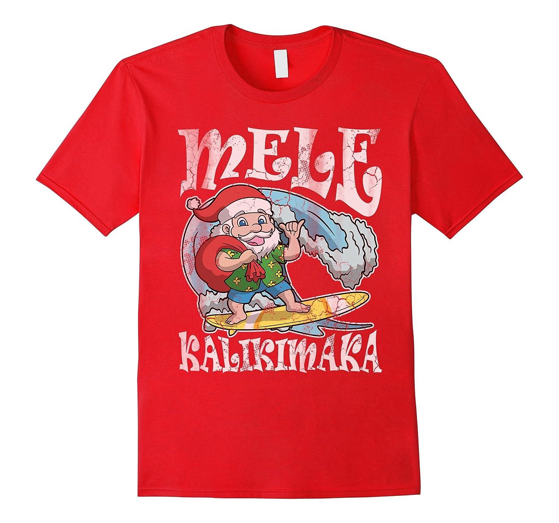 Christmas Mele Kalikimaka Santa Hawaii Shirt-ANZ