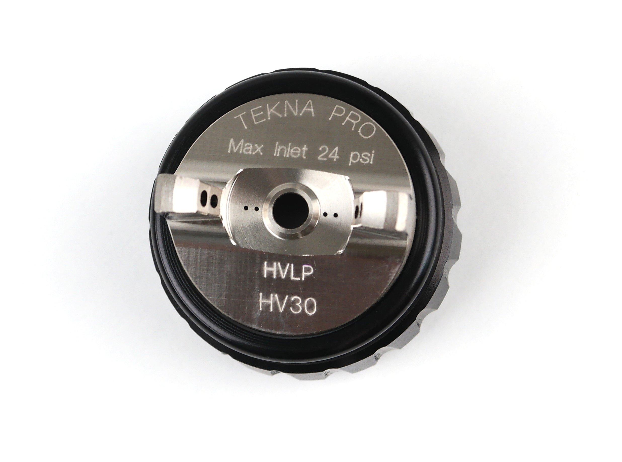 Tekna 703540 HV30 HVLP Air Cap and Retaining Ring for PRO/Prolite Spray Guns
