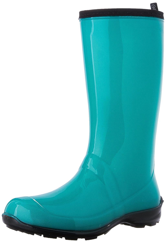 Kamik Women's Waterproof Vegan Heidi Rain Boot, 9 M US, Turquoise