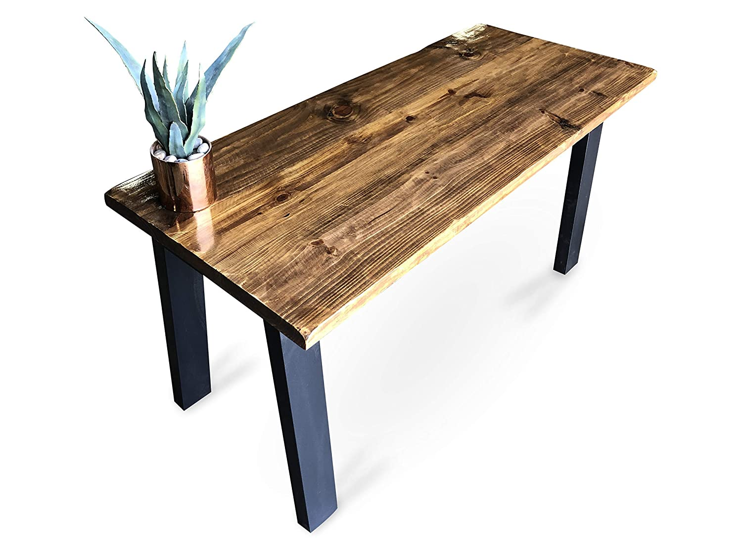 Amazon com umbuzö handcrafted modern wood desk handmade