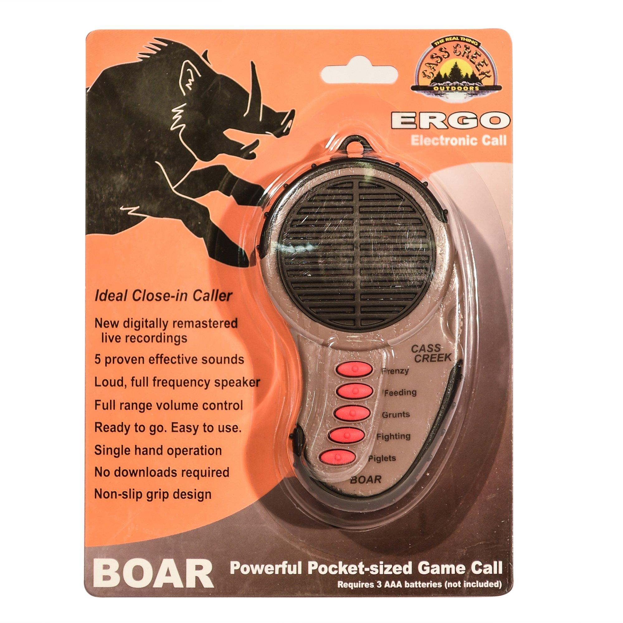 Cass Creek - Ergo Call - Boar Call - CC034 - Handheld Electronic Game Call - Hog Call by Cass Creek (Image #2)