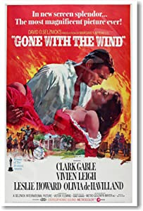 Gone with the Wind - NEW Vintage Movie Poster