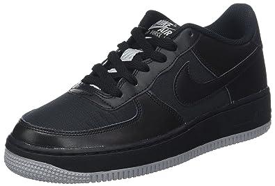 uk availability 7964d 17359 Nike Boys  Air Force 1 Lv8 Bg Gymnastics Shoes, Black Wolf Grey 016
