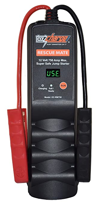 How To Jump A Starter >> Amazon Com Ozcharge Rescuemate 12 Volt Super Capacitor Jump