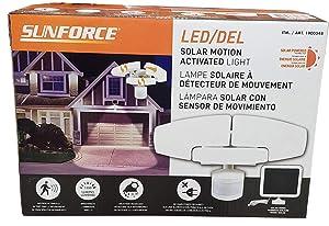Sunforce Solar Motion Security Light Led/Del, Orange