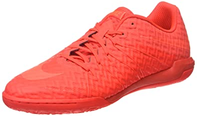 Nike Mens Hypervenomx Finale Ic Indoor Soccer Shoes Bright Crimson