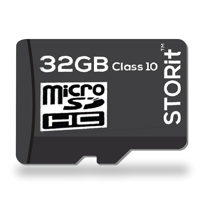 STORIT 32GB Class 10 MicroSDHC Memory Card
