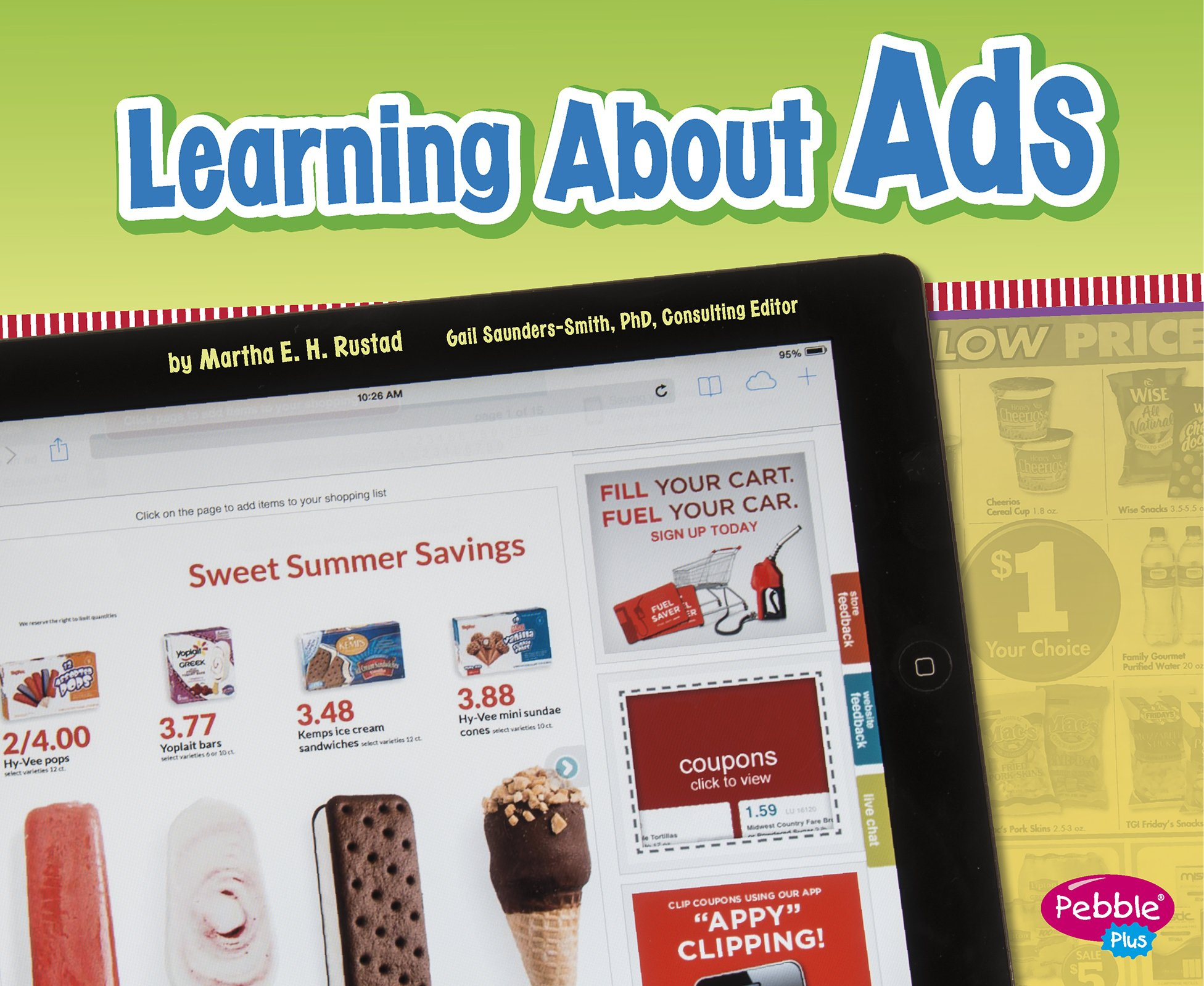 Learning About Ads (Media Literacy for Kids) by Capstone Press