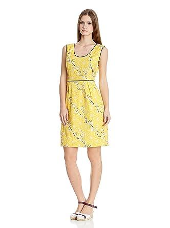 Kleid gelb 44