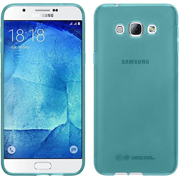 cheap for discount d908a 99752 Amazon.com: Silicone Case for Samsung Galaxy A8 - transparent ...