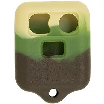 Keyless2Go New Silicone Cover Protective Cases for Remote Key Fobs FCC CWTWB1U345 CWTWB1U331 GQ43VT11T - Camo: Automotive