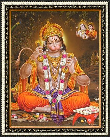 amazon com avercart lord hanuman shree hanumanji hanuman praying