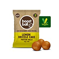Boostball Lemon Drizzle Cake Protein Ball 42g (Pack of 12)