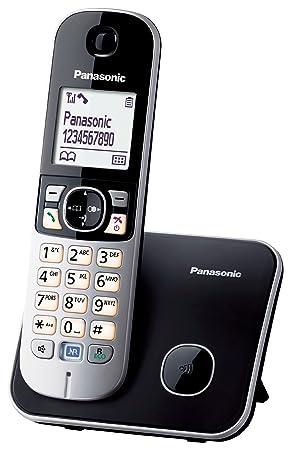 Panasonic KX-TG6811 - Teléfono fijo inalámbrico (LCD de 1.8