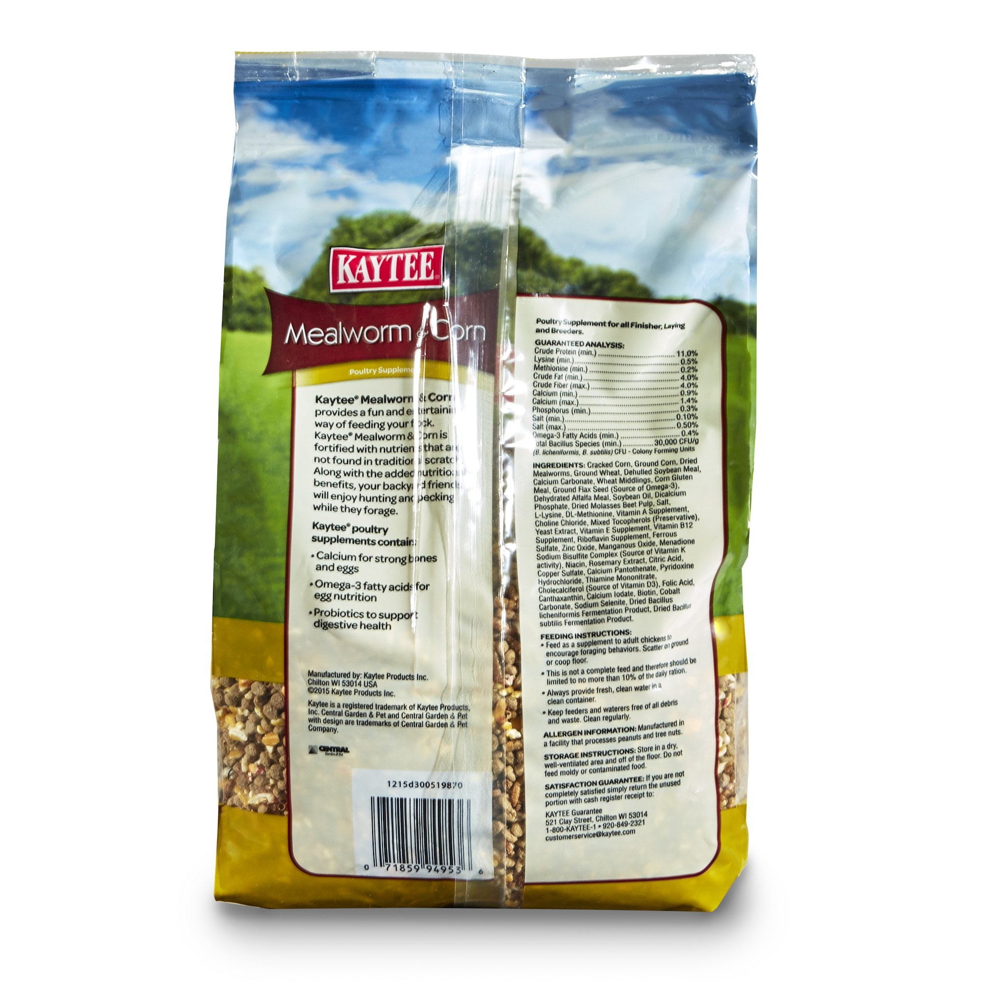 Kaytee Mealworms and Corn Treat, 3 Pound by Kaytee (Image #2)