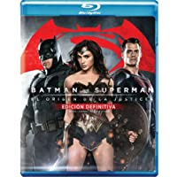 Batman vs. Superman: El Origen de la Justicia (Blu-ray+Blu-rayExt+DVD+Copia Digital)