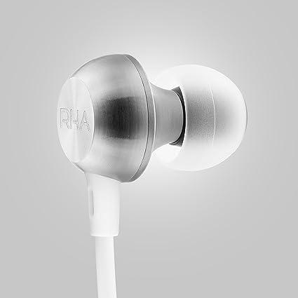 RHA MA650 Inalámbrico (Blanco): Aislamiento de Ruido Resistente a Las Manchas Auriculares Intrauditivos Bluetooth con Batería de 12 Horas: Amazon.es: ...
