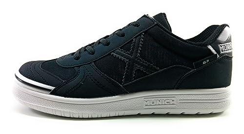 competitive price f6f09 c5546 G3 Zapatos Sala Amazon Y es Munich Zapatillas Futbol Niño Negra Uw7q14qR