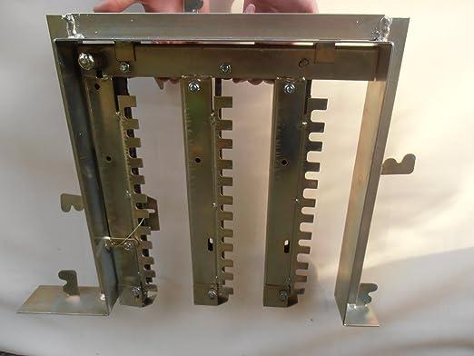 Deriva Sistema con cadena mecanismo para parrilla de piedra ...