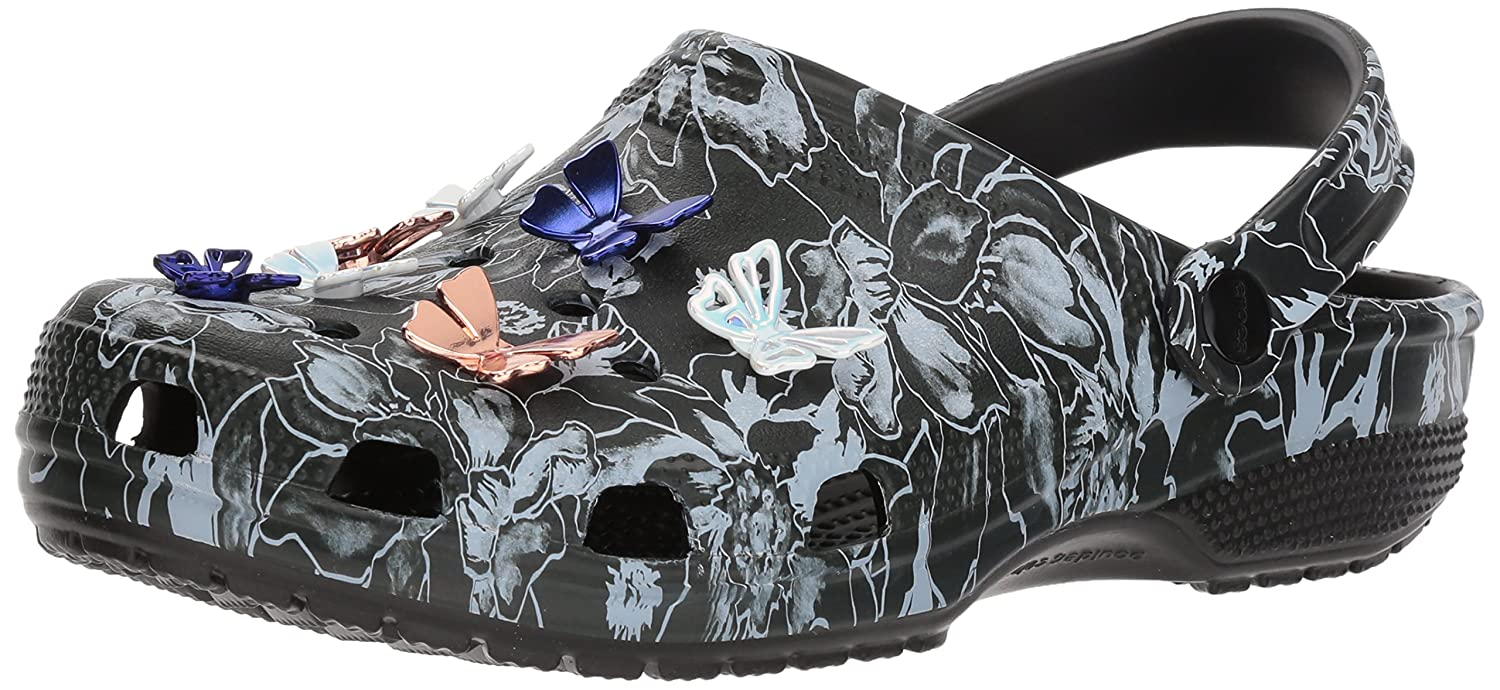 f834bf93c931a2 Crocs Women s Clssc Botanical Butterfly Clog  Amazon.co.uk  Shoes   Bags