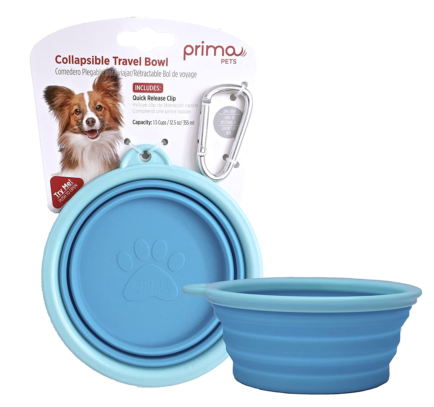 Image result for Prima Pets Collapsible Bowl