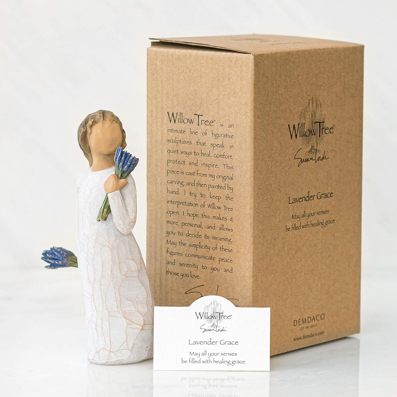 "Willow Tree Figurine /""Lavender Grace/"" Demdaco"