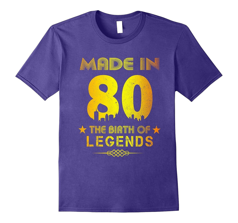 37th Birthday Shirt Made In 1980-ANZ