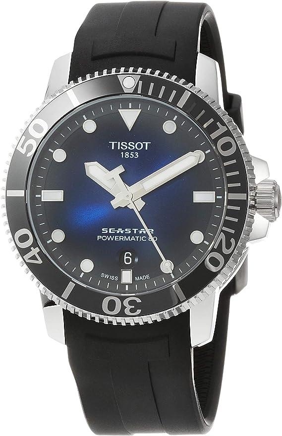 Tissot Men's Seastar 1000 Powermatic 80 - T1204071704100