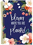 "bloom daily planners 2017-18 Academic Year Daily Planner – Weekly and Monthly Datebook Organizer – August 2017 to July 2018 (6"" x 8.25"") -Bloom Where You Are Planted"