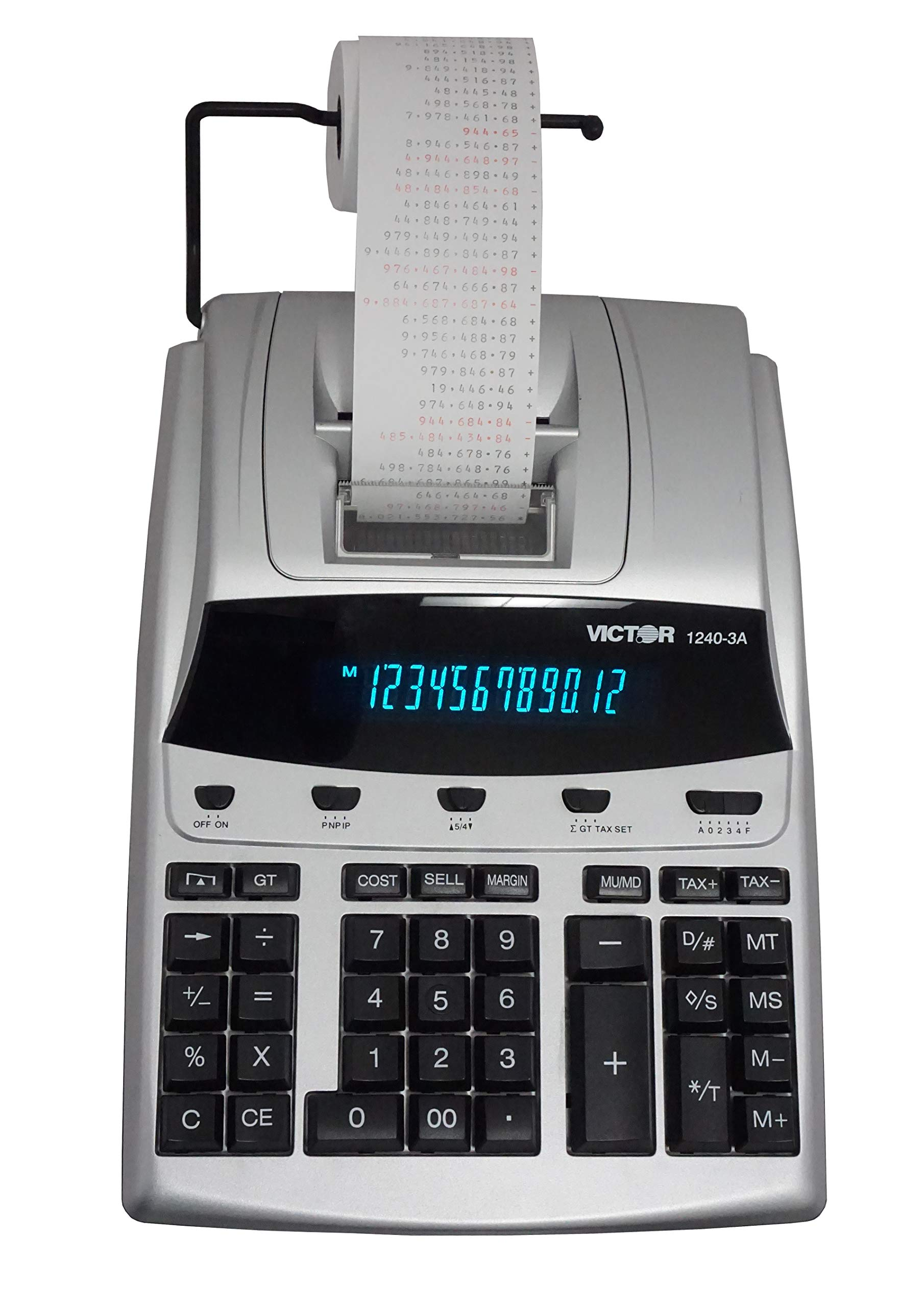 Victor 1240-3A 12 Digit Heavy Duty Commercial Printing Calculator by Victor