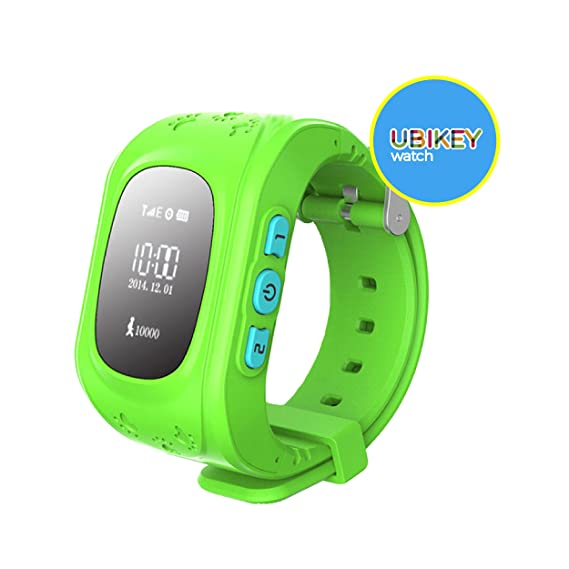 UBIKEY GPS Smart Watch GPS Smartwatch Phone Anti Lost SOS Call Children Finder Fitness Tracker WristWatch