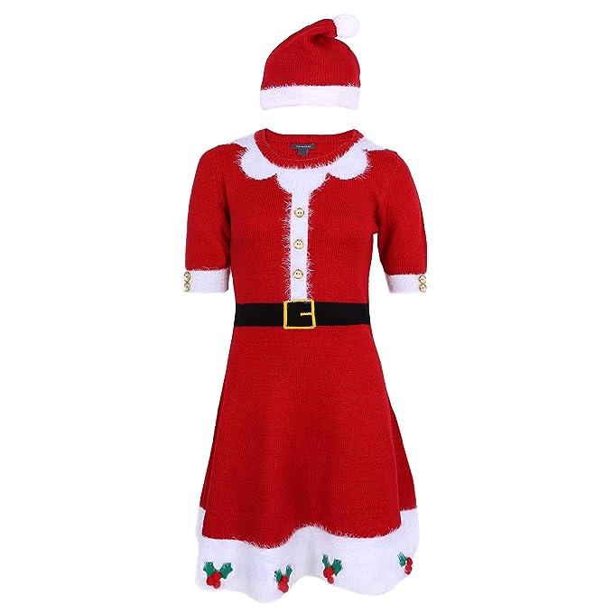PRIMARK Oeko-Tex Vestido Rojo, Traje de Papá Noel: Amazon.es ...