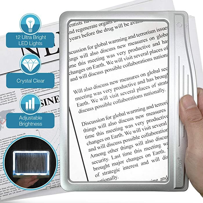 Top 9 Lighted Laptop Magnifier