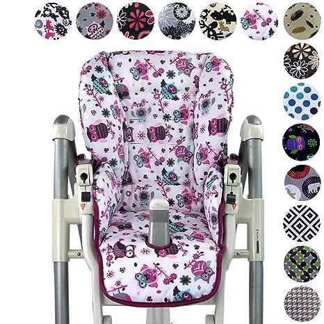 BambiniWelt - Funda de repuesto para silla Peg Perego Prima Pappa Diner (7colores