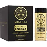 Qualia Nootropic Energy Shot by Neurohacker Collective | Clean Focus for Peak Mental Performance | Niagen Enhancer with Ginseng Root, Alpha GPC, and Caffeine | 2oz Cognitive Enhancer Shot - 6 Pack