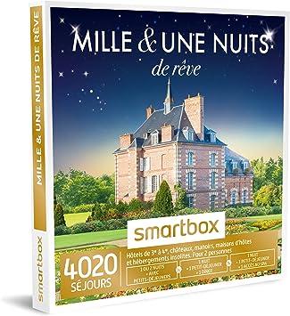 Smartbox Coffret Cadeau Homme Femme Couple Mille Et Une Nuits De Reve Idee Cadeau 4020 Sejours 1 Sejour De Reve Pour 2 Amazon Fr Beaute Et Parfum